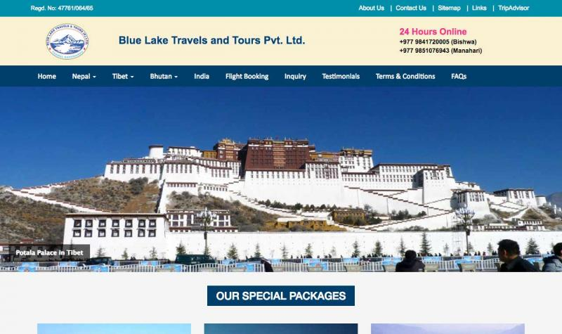 Blue Lake Travels and Tours Pvt. Ltd.