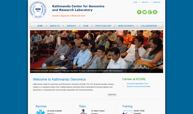 Kathmandu Center for genomics and Research Laboratory Pvt. LTD